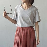[レシピなし]VネックTシャツ(LBS4790-02)
