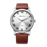 REBIRTH 腕時計革バンド ブラウン