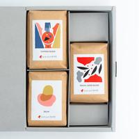ギフトボックス|コーヒー豆3個セット