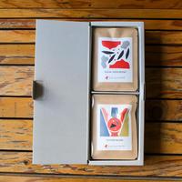 ハーフギフトボックス|コーヒーバッグボックス2個セットA