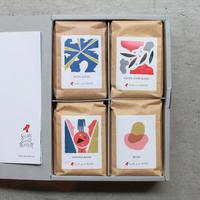ギフトボックス|コーヒー豆4個セット