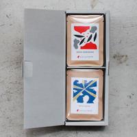 ハーフギフトボックス|コーヒーバッグボックス2個セットB