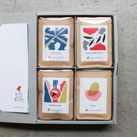 ギフトボックス|コーヒーバッグボックス4個セット