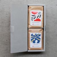 ハーフギフトボックス |コーヒー豆2個セットB
