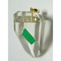 K18 左巻き水晶(美晶堂・オリジナル)LSQ-008