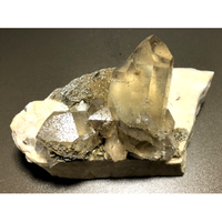 天然非加熱シトリン母岩付き 雲母&レインボー CT-007