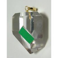 K18 左巻き水晶(美晶堂・オリジナル)LSQ-007