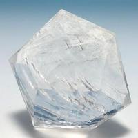美晶堂オリジナル 天然白水晶・かっこみカット S-QU-004