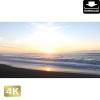 2007005 ■ 千葉 九十九里海岸の日の出