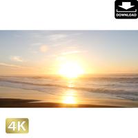2007007 ■ 千葉 九十九里海岸の日の出