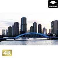 2028083 ■ 東京 隅田大橋から佃