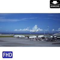 4042006 ■ 沖縄本島 空港 飛行機