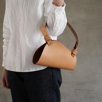 flower bag S    (キャメル)