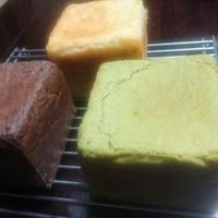 【送料無料】グルテンフリー 米粉食パン3色セット(プレーン・チョコ・抹茶)
