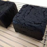【3個セット】グルテンフリー 米粉食パン3個セット(麻炭1プレーン2)