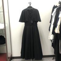 【Sample】ロングケープワンピース
