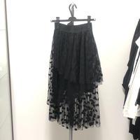 【Sample】ドットチュールスカート