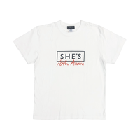 SHE'S 10th Anniversary Tシャツ(ホワイト)
