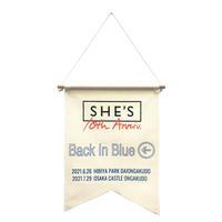 アニバーサリーフラッグ「Back In Blue」(大阪公演・事後通販)