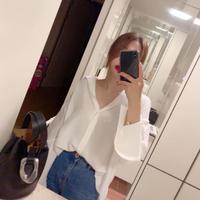 シルキーオーバーサイズシャツ
