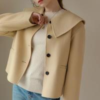 ハンドメイドショートジャケットコート