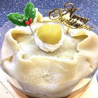 予約開始!【全国発送】アントルメマロンX'mas 5号 15cm クリスマスケーキ2021