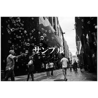 銀塩プリント(中)ご注文 437mm × 539mm