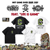 RUDIE'S × SABBAT13×ROLLING CRADLE T-shirts White or Black+ドリンクチケット1枚 SET