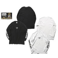 THE GAME L/S T-shirts(B) White or Black+ドリンクチケット1枚 SET