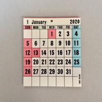 PAPIER LABO 2020 Desktop Calendar