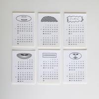 masanao Hirayama 2021 calendar sticker