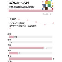 ドミニカ・セサル/浅煎り(100g)