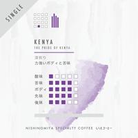 ケニア・プライドオブケニアシリーズ/深煎り(100g)