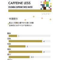 コロンビア・カフェインレス/中深煎り(100g)