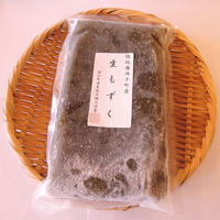 【海士町応援商品】海士町産冷凍生もずく500g×4個セット ※北海道、沖縄の方