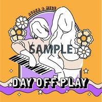 【第2弾】DAY OFF PLAY 応援ステッカー (投げ銭)