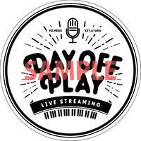 【第6弾】DAY OFF PLAY 応援ステッカー (投げ銭)