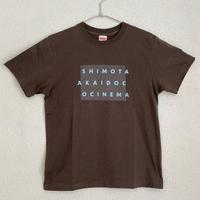 【チャコール×ライトブルー】オリジナルTシャツ(5.6オンス)