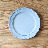 ピューター皿(8寸)ライトブルー