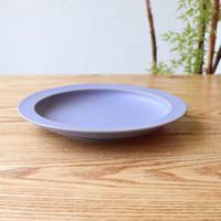 リム皿(7寸)ブルー