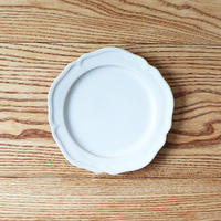 ピューター皿(6寸)ホワイト