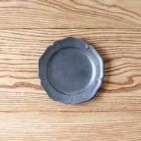 ピューター皿(5寸)シルバー