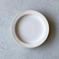 N▶400(エヌ・ヨンヒャク)  リム皿 5寸 ホワイト