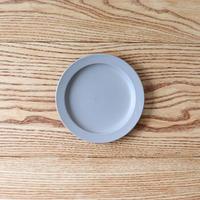 リム皿(5寸)グレー