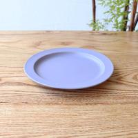 リム皿(6寸)ブルー