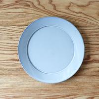 リム皿(8寸)ライトブルー