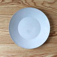 リム皿(9寸)SUMI貫入