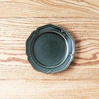 ピューター皿(5寸)グリーン