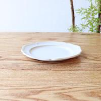 ピューター皿(5寸)ホワイト