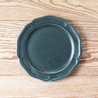 ピューター皿(8寸)グリーン